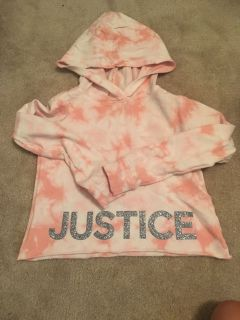 Size 6/7 justice hoodie