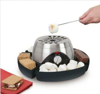 Hammacher Schlemmer The Indoor Flameless Marshmallow Roaster