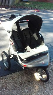 Double jogging stroller- Baby Trend brand