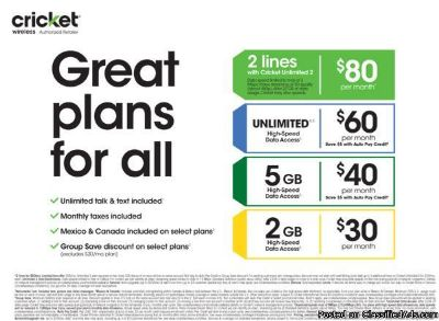 great deals on plans and phones