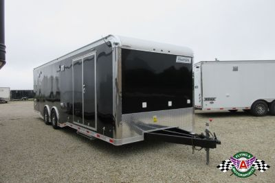 New 2019 Haulmark 28' Edge Pro Race Trailer in Black