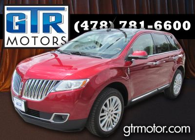 2015 Lincoln MKX (Red)