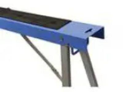 HICO USH Folding Metal Sawhorse Twin Pack