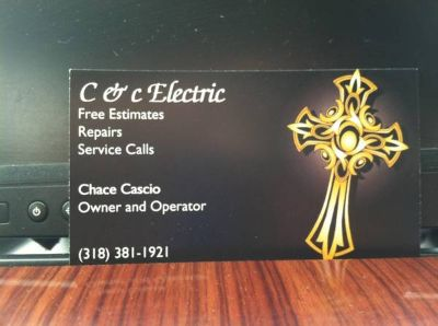Have electrical problems Call me. (west monroe)