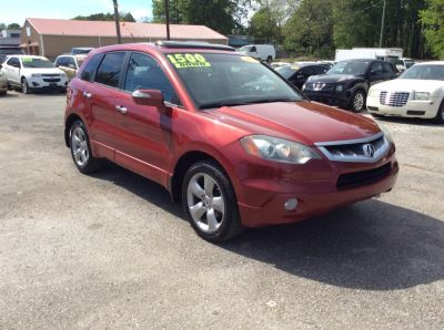 2008 Acura RDX Base (Red)