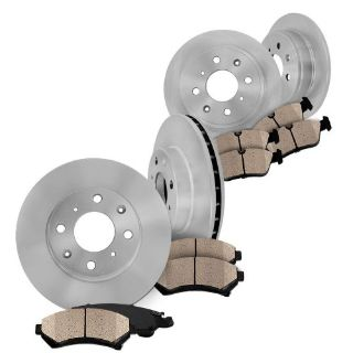 Find Front and Rear Brake Disc OE Rotors & Ceramic Pads Set Kit MAZDA MIATA 2001 2002 motorcycle in Orland Park, Illinois, United States, for US $114.95