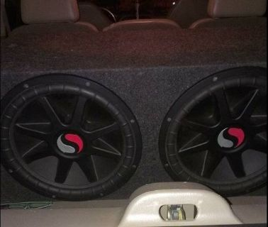 Trade For JL Audio Subs