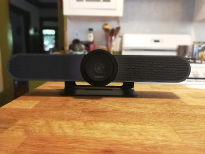 Logitech Meetup 4k Webcam with expansion mic. Great for conference Rooms
