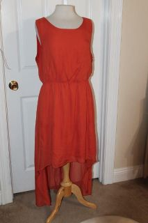 $10 Paper Doll hi-low dress, neat back-see pic, size 2X