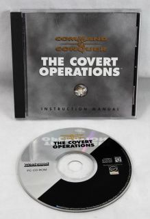 Command and Conquer The Covert Operations CD-Rom PC Program Vintage Software