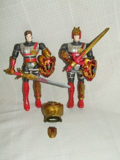 Mystic Knight of Tir Na Nog Action Figures 1998 Bandai