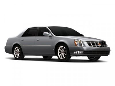 2009 Cadillac DTS Performance (White Diamond Pearl)