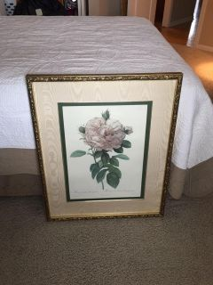 Bombay The Rose 23 x 28 matted picture