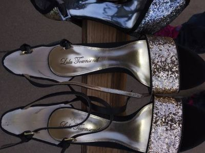 Women's designer shoes 8 - 8.5 M Heels I will be in Fairfield on 6/16 if you want me to bring th...