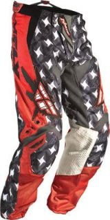 Sell 2011 Fly Racing Kinetic Pants (30) (RED/GREY) Red/Gray 364-23230 motorcycle in Loudon, Tennessee, US, for US $61.34