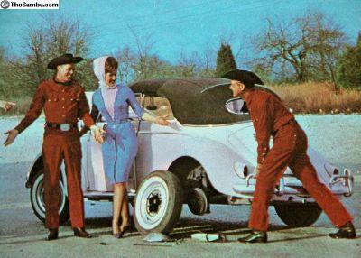 1950s Convertible - Willis Brothers Album