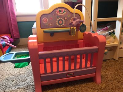 Little tikes doll nursery