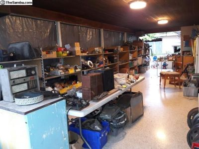 Remaining inventory of 40 year old shop