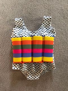Swim floating suit. Size XL child