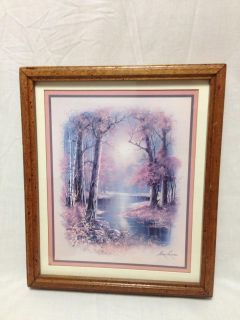 """11 x 13"""" Wood Frame picture. Pick up at Target in McCalla on Thursdays 5:15 to 6:00pm."""