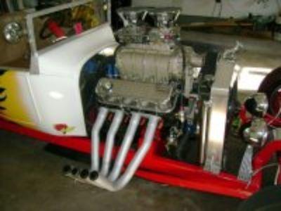 1923 T-BUCKET BLOWB BIG BLOCK CHEVY