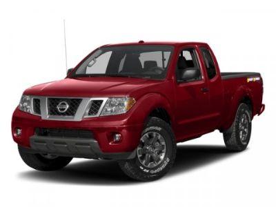 2017 Nissan Frontier XE (Black)