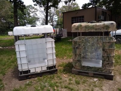Hay Bunks/ hunting blinds
