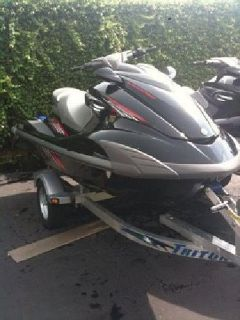 2 x 2009 Yamaha - FZS PWC Jetski's With Double Trailer