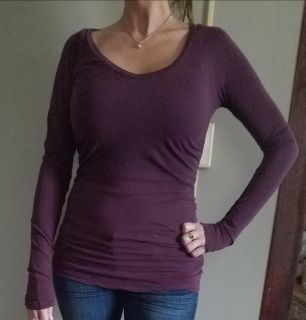 James Perse designer long sleeve tank top. Size 3 period paid $119
