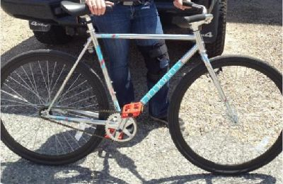 $400 Fairdale Coaster single speed in chrome (ridden only once!)