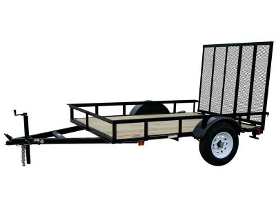 $899, 2017 Carry-On Trailers 6X8GW13 Utility Trailers