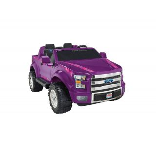 Ford F-150 12-Volt Battery-Powered Ride-On, Purple