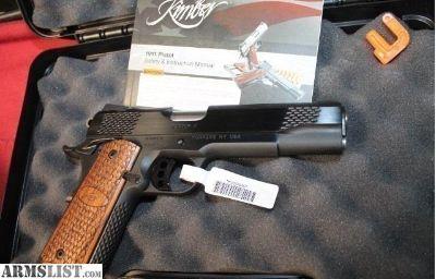 For Sale: Kimber Raptor II 3200117 NS 45ACP 1911 NEW