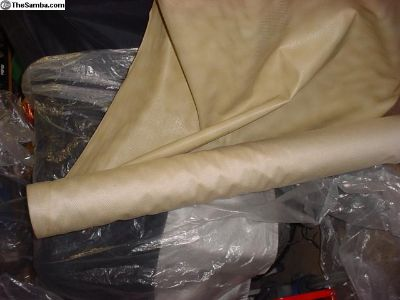 Reduced Backed Vinyl Beige Fabric