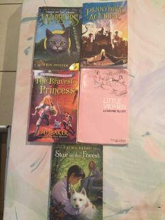 Five kids paperback books