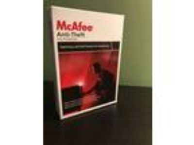 Brand New McAfee Anti-Theft File Protection