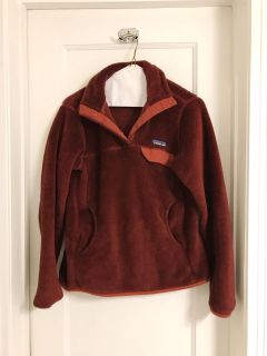 Red Patagonia Pullover - Women s Size Small
