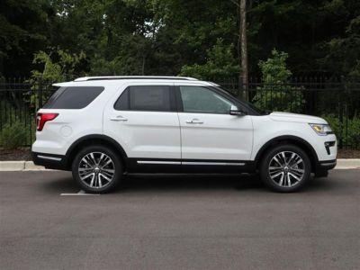 2018 Ford Explorer Platinum 4WD (WHITE)