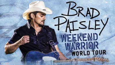 Brad Paisley Weekend Warrior World Tour