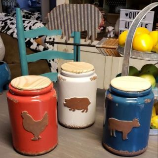 Farmhouse Canisters and More
