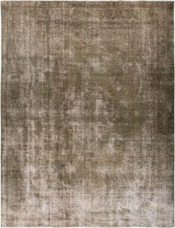 """Vintage, Hand Knotted Area Rug - 9' 3"""" x 12' 3"""""""