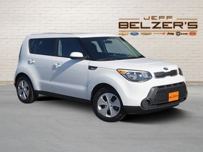 2014 Kia Soul Base (Clear White)