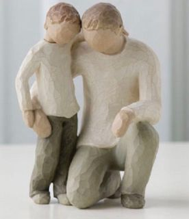 Willow Tree Father and Son figure