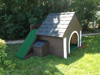Wooden Dog House, read below and swipe or tap to see all 5 photos