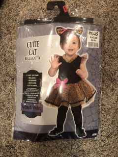 Cutie Cat Infant Dress Up Clothing/ Halloween