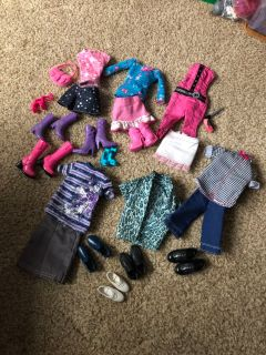 Barbie outfits and accessories for boy and girl dolls