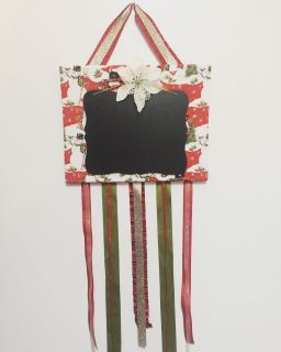 Christmas card/picture holder.