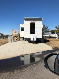 2017 Hy-Line H L PARK TRAILERS - TWO BR