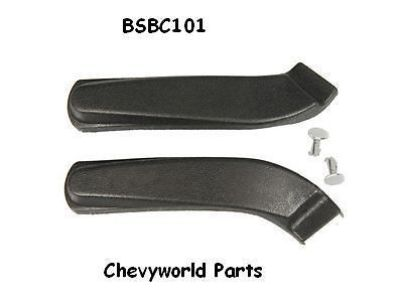 Find 67 68 69 70 CAMARO BUCKET SEAT HINGE COVERS motorcycle in Bryant, Alabama, United States, for US $23.95