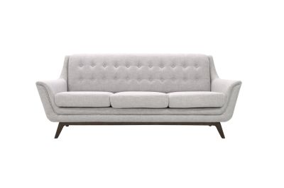 Contemporary Mid Century Arman Sofa ( Light Grey)